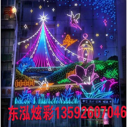 商场节日展示中灯饰画的巧妙应用