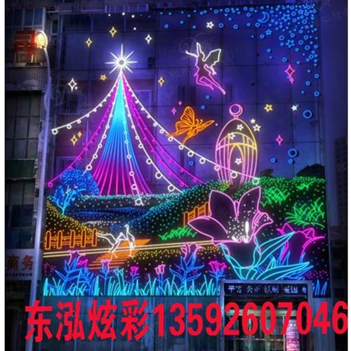北京圣诞节灯饰画